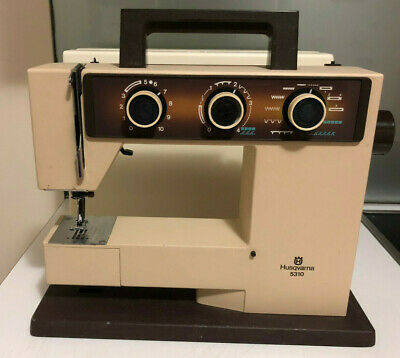 Husqvarna 5310 Sewing Machine Heavy Strong Made in Sweden Good working USED