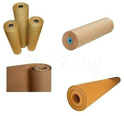 Any Width/Any Length BROWN KRAFT PAPER ROLLS 88gsm Heavy Duty/Posting/Packaging
