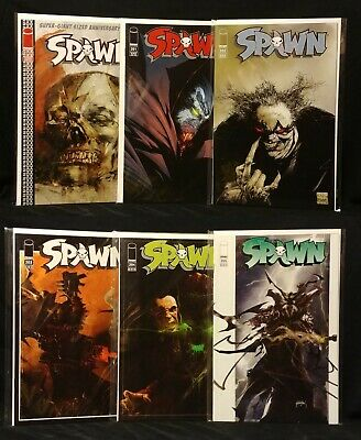 Spawn #200 - 205 Lot Image Comics 1992 NM- 6 Issues