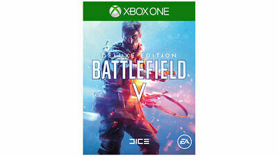 Xbox One Battlefield V Deluxe Edition Full Game Digital Download Code XO