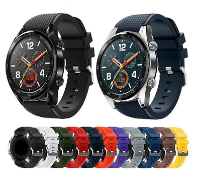For Huawei Watch GT Silicone Fitness Replacement Wrist Strap