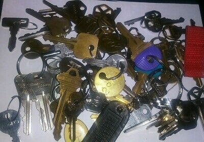 55 Keys Vintage Contemporary Chicago Lock Co Yale National Master KV and More