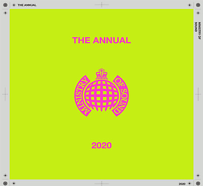 The Annual 2020 MINISTRY OF SOUND VARIOUS ARTISTS 2 CD SET  NEW(1STNOV)