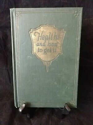 Vintage Health And How To Get It Hamilton Beach Vibrator Charles Bryson 1927