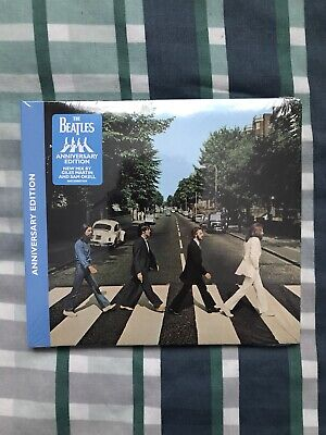 THE BEATLES - ABBEY ROAD CD (50th Anniversary) 2019 Remaster **NEW & SEALED**