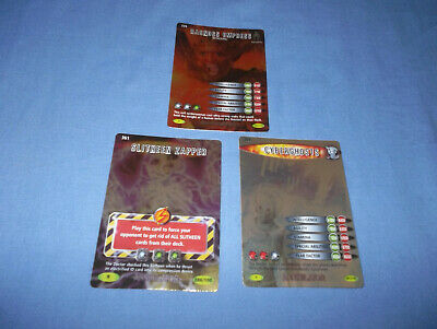 Doctor Who Battles In Time Annihilator Cards Rare No's. 339/356/361