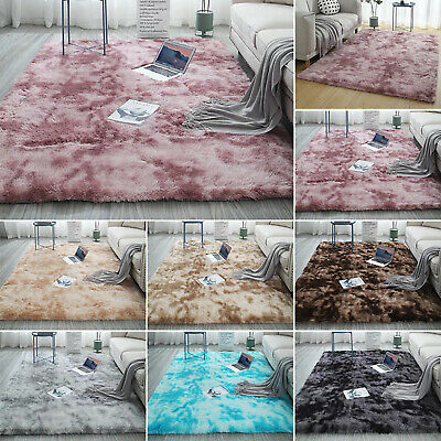 Shaggy Square Soft Large Rugs Floor Carpet Bedroom Living Room Lounge Area Rugs