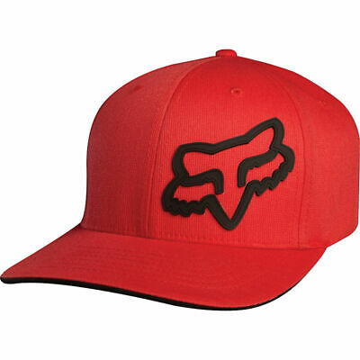 Fox YOUTH FlexFit  Hat *Youth OS* Red
