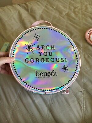 NEW BENEFIT COSMETIC Makeup Bag Hello Gorgeous £8.18
