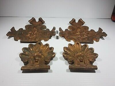 Victorian solid Brass Cast Architectural antique for front gate,Plaque Ornaments