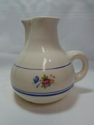 Vintage Pottery By Levine, Inc. Hand Potted Pitcher Vase - 1985 - Richmond Ca