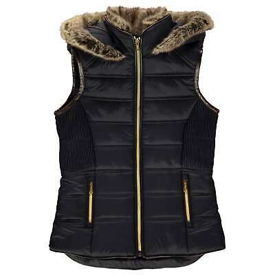 Firetrap Girls Puffer Jacket Clothing Gilet Sleeveless Casual Warm Winter