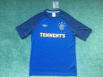 Rangers Training Football Shirt Large Umbro BNWT Retro