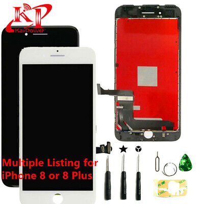 New For iPhone 8 Plus 8 Screen Replacement LCD Display Touch Digitizer + Tools