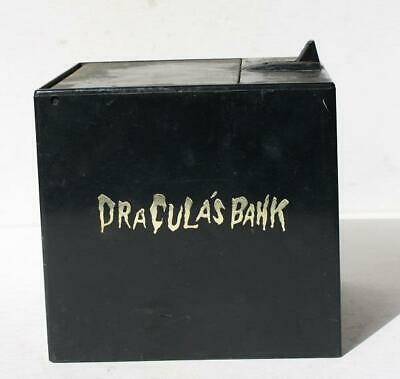 Dracula's Coin Bank Battery Operated Vintage Hand Grabs Coin-Neat Halloween Bank