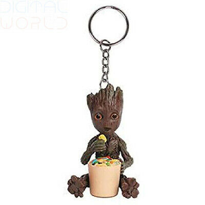 Head Play Toys Guardians Of The Galaxy Baby Groot 3D Keychain (Sweet...