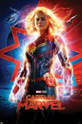 Captain Marvel (New,2019,Dvd,Release) Super,Marvel,Action,Free Shipping...