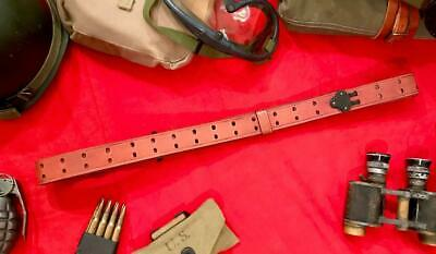 "Wwii M1907 Rifle Sling (R.i.a.) 1941 ""Beautiful Professionally Aged Repro"""