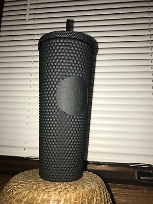 Fall 2019 Starbucks Matte Black Studded Tumbler Cup Limited Edition New