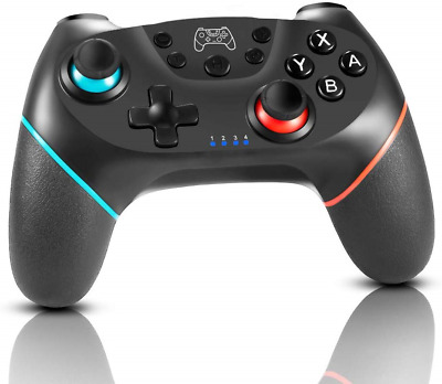 HOPLAZA Wireless Controller for Nintendo Switch, Bluetooth Wireless Gamepad for