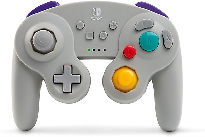 Wireless Officially Licensed GameCube Style Controller/Super Smash Bros. Grey