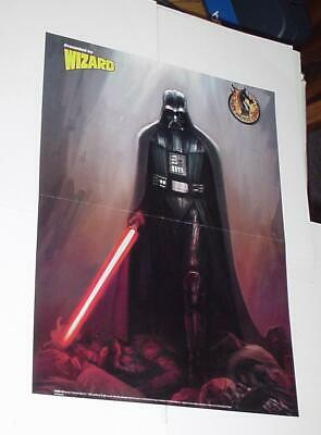 Star Wars Poster #13 Darth Vader w/ Lightsaber by Brian Horton Anakin Skywalker