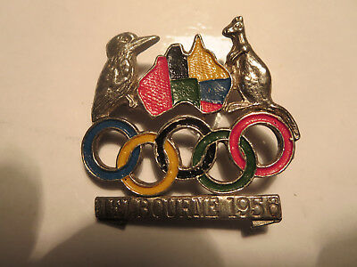 1956 Melbourne Olympic Games Badge