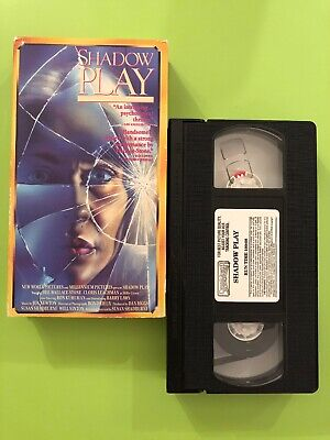 Shadow Play VHS Movie - Dee Wallace-Stone, Cloris Leachman- Classic VCR cassette