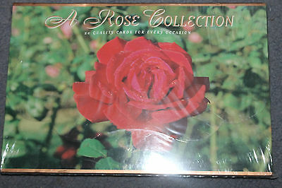 New & Sealed A ROSE COLLECTION - 20 Quality Cards/envelopes  for every occasion