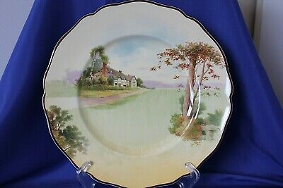 Royal Doulton Cottage Series Display Plate Circa 1930 No D4987