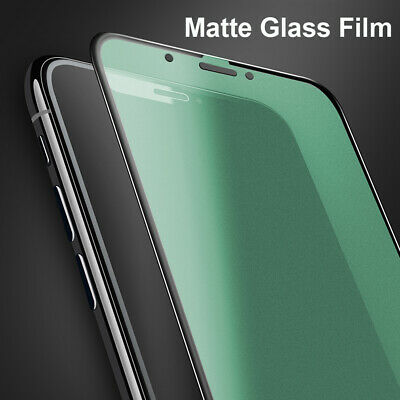 Anti-Glare Matte Film Tempered Glass Screen Protector for iPhone 11 Pro Max XR X