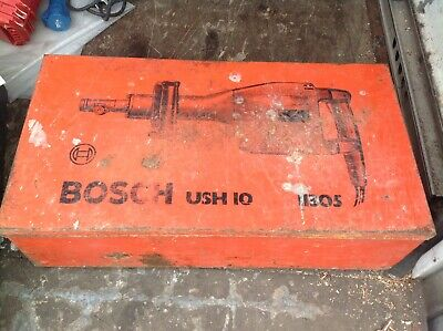 BOSCH DEMOLITION HAMMER /BREAKER 110V. Fully Working. + Chisels