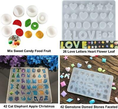 Transparent Silicone Cabochon Making Mold Tray Frame Setting For Epoxy Uv Res...