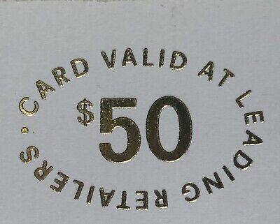 NEW HER Gift Card $50 - Valid for 36 months