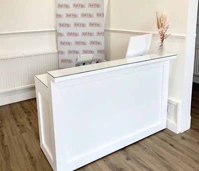 Shop Salon Counter, Reception Desk, Salon Desk, Shaker Style