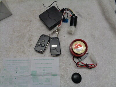 Nos Chinese Motorcycle Moped Scooter Alarm And Remote Start System