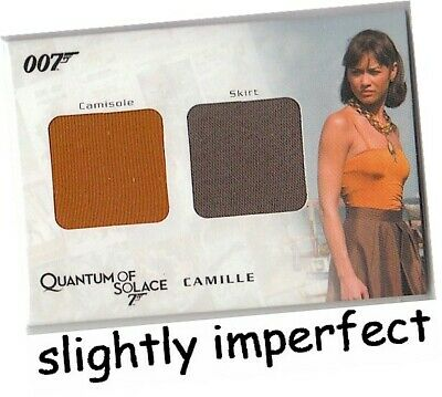 James Bond Archives 2009 - QC01 Camille Dual Costume Card 191/450 - IMPERFECT