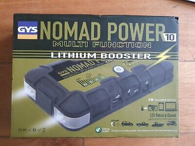 GYS Nomad Power 10 Multi Function Lithium Booster