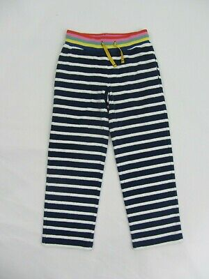 NEW MINI BODEN towelling sweatpants joggers beach holidays 6 years blue
