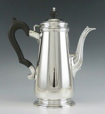 Antique c1920 Sterling Silver Tiffany & Co Lighthouse Style Coffee or Tea Pot
