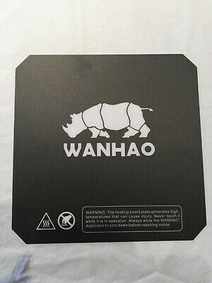 Wanhao I3 Plus build plate sef adhesive polycarb sheet.