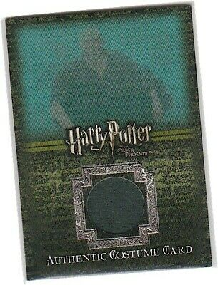 Harry Potter Order Of The Phoenix - Ci2 Lord Voldermort's Costume Card 002/200