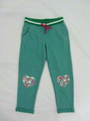NEW MINI BODEN sweatpants joggers 6 years  green
