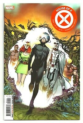 Marvel Comics X-MEN: HOUSE OF X #1 First Printing Regular Cover A