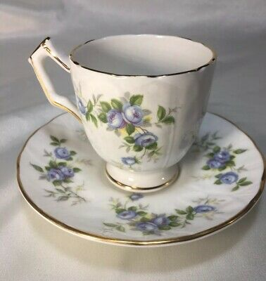 "Aynsley "" MARINE ROSE"" Demitasse/Espresso Set"