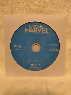 Captain Marvel (2019) Blu-ray Disc Only, Please Read! Larson Jackson