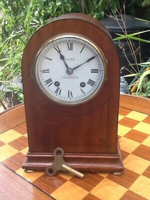 Old Vintage Coventry Astral Mantle Clock - Free Postage!
