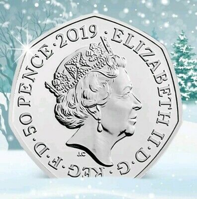 NEW Release 2019 The Snowman and Boy 50p UK 2nd To Be Released PRE ORDER