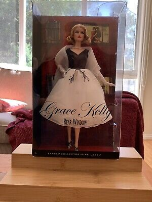 Barbie Collector Pink Label Collectible Grace Kelly Barbie Rear window -NRFB