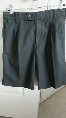School Shorts Boys - UMS 72R size 12 Grey -Very good used condition